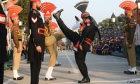 India and Pakistan hold Wagah border ritual despite attack