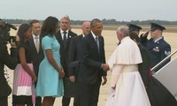 Pope Francis visits US