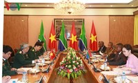 Vietnam and South Africa discuss defense