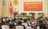 The 14th session of the Ha Noi People's Council concludes