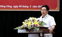 Deputy Prime Minister Pham Binh Minh meets voters in Thai Nguyen province