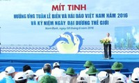 Meeting to respond to Vietnam Sea and Island Week