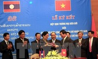 Agreements facilitate Vietnam-Laos trade
