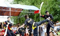Photo exhibition on traditional martial arts of Vietnam and the world
