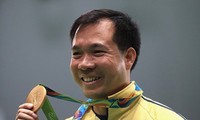 Shooter Hoang Xuan Vinh, great pride of Vietnam's sport