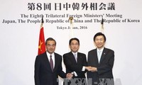 Japan, China, South Korea discuss ways to maintain trilateral cooperation