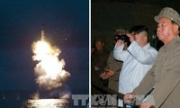 North Korea fires off 3 ballistic missiles into eastern waters