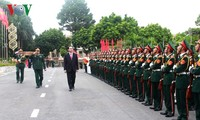 President attends ceremony marking 70th anniversary of Military Zone 2 armed forces