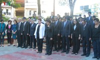 National Assembly Chairwoman lays wreath at Ho Chi Minh Monument in Cuba