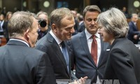 British PM urges 'smooth and orderly' Brexit