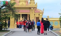 Khmer Theravada Buddhist Institute built in Can Tho