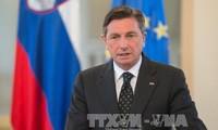 Slovenia urges EU enlargement to Balkans