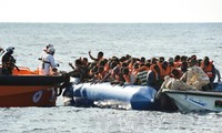 Nearly 100 migrants missing after boat sinks off Libyan coast