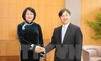 Vice President meets Japanese royal family