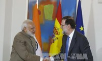 India, Spain back resolving East Sea disputes in line with international law