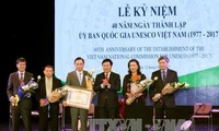 Vietnam National Commission for UNESCO celebrates 40th anniversary