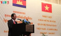 Ceremony marks 50th anniversary of Vietnam-Cambodia diplomatic ties