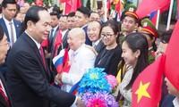 Russian media highlights President Tran Dai Quang's visit
