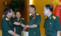 National Assembly Vice Chairman meets former Truong Son soldiers