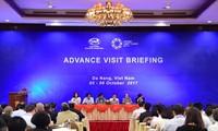 APEC representatives inspect Summit venues