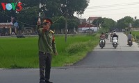 War veteran helps keep children safer on road