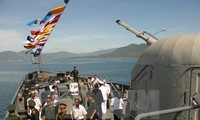 Vietnamese navy joins first ASEAN multilateral naval exercise