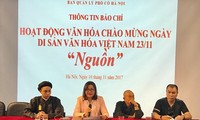 "Activities held in ""National Solidarity – Vietnamese Cultural Heritage"" Week"