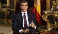 King of Spain calls for national unity