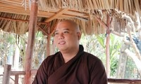 Venerable Thich Le Hieu, a kind-hearted monk