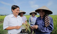 Professor Tran Duy Quy honored for contribution to agriculture