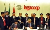 Việt Nam và Italia tăng cường hợp tác trong lĩnh vực hợp tác xã