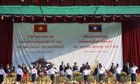Mít tinh kỷ niệm truyền thống Liên minh chiến đấu Lào - Việt