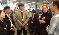 Đoàn công tác Đài Tiếng nói Việt Nam làm việc tại Đài quốc tế Đức và hãng tin Reuters