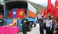 Truy điệu, an táng hài cốt liệt sỹ quân tình nguyện và chuyên gia Việt Nam hy sinh tại Lào