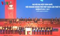 Bế mạc Đại hội đại biểu toàn quốc Hội doanh nhân trẻ Việt Nam lần thứ 5, nhiệm kỳ 2014-2017