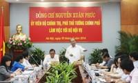 Phó Thủ tướng Nguyễn Xuân Phúc : Bộ Nội vụ cần đẩy mạnh thanh tra công vụ
