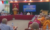 Chủ tịch Ủy ban Trung ương MTTQ VN Nguyễn Thiện Nhân tiếp các nữ chức sắc, chức việc, nữ tu tôn giáo