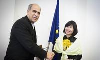 Đại sứ Việt Nam tại Slovakia chào xã giao Phó Thủ tướng, Bộ trưởng Ngoại giao và hội nhập Châu Âu
