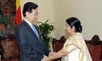 Thúc đẩy quan hệ đối tác chiến lược Việt Nam-Ấn Độ