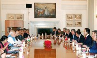 Việt Nam và Ấn Độ nhất trí tăng cường quan hệ hợp tác trên mọi lĩnh vực