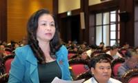 Quốc hội nghe và thảo luận về dự thảo Luật căn cước công dân