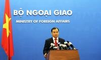 Việt Nam phản đối Trung Quốc tiến hành cải tạo phi pháp trên bãi Chữ Thập thuốc quần đảo Trường Sa