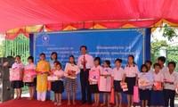 Trường Tiểu học Hữu nghị Khmer - Việt Nam ở Campuchia khai giảng năm học mới