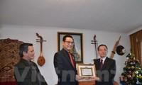 Chính phủ Lào ghi nhận những đóng góp của Phái đoàn Ngoại giao Việt Nam tại Geneva