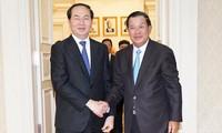 Việt Nam và Campuchia nhất trí hợp tác chặt chẽ chống phá mọi thế lực thù địch