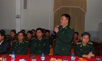 Hội  nghị tổng kết 15 năm tăng cường cán bộ Bộ đội biên phòng cho các xã biên giới