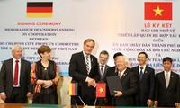 Thành phố Hồ Chí Minh và thành phố Leipzig (Đức) thiết lập quan hệ hợp tác hữu nghị
