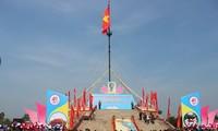 """Lễ thượng cờ """"Thống nhất non sông"""" tại Quảng Trị"""