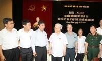 Tổng Bí thư Nguyễn Phú Trọng tiếp xúc cử tri quận Hoàn Kiếm, Hà Nội