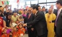 Chủ tịch nước Trương Tấn Sang  gặp mặt cộng đồng người Việt tại Nga